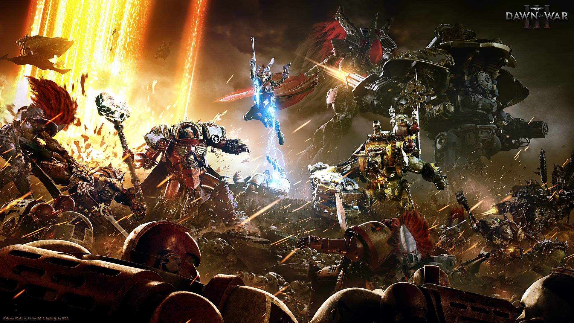 Dawn of War 3 battle