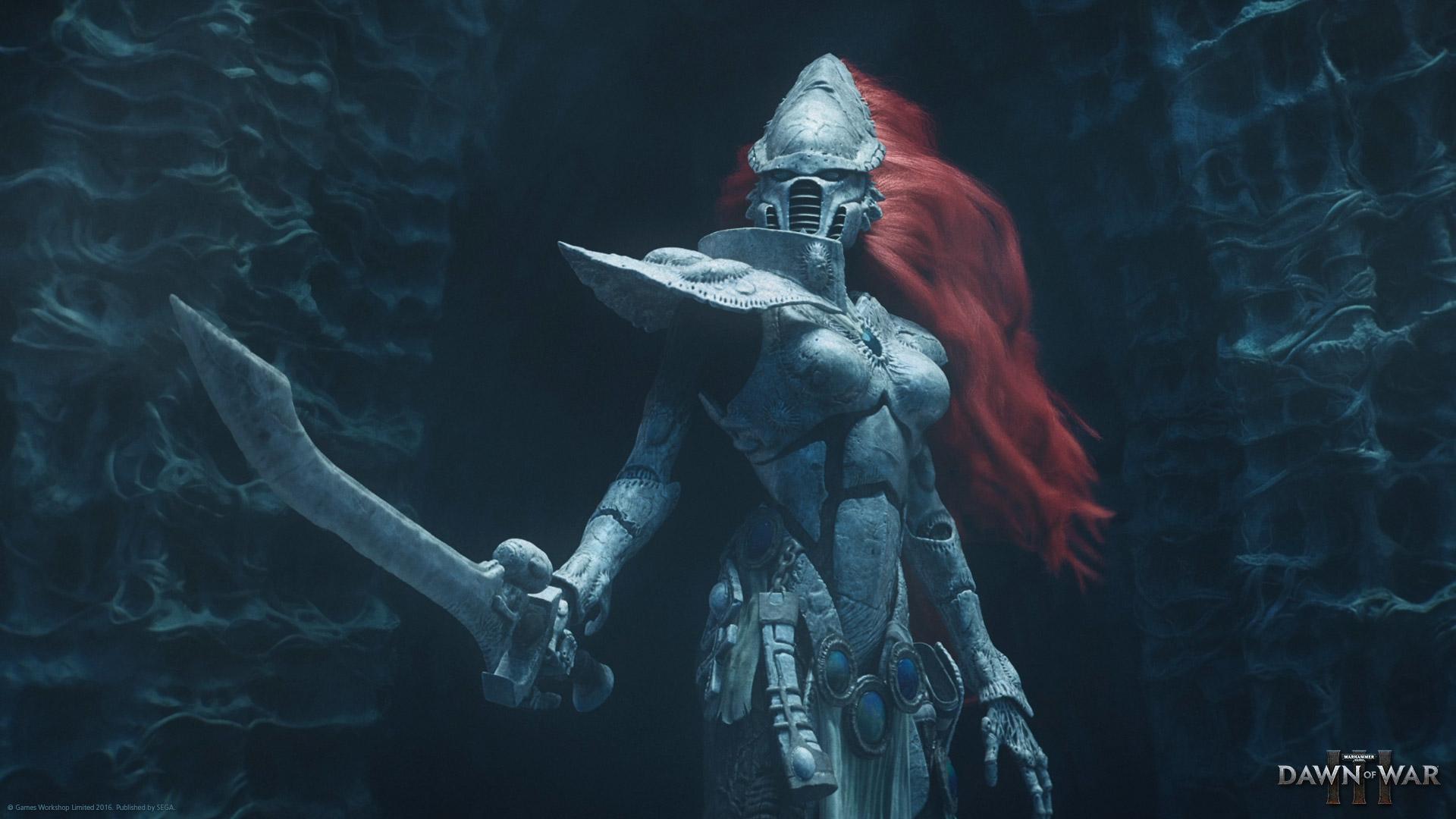Eldar Howling Banshee in Dawn of War 3